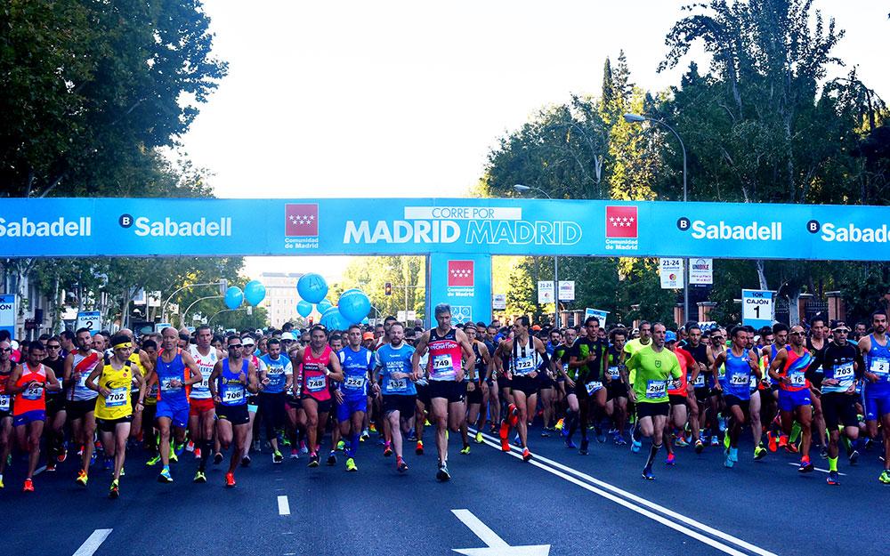 ¡10.000 corredores conquistan la capital en la 9º edición de Madrid Corre por Madrid!
