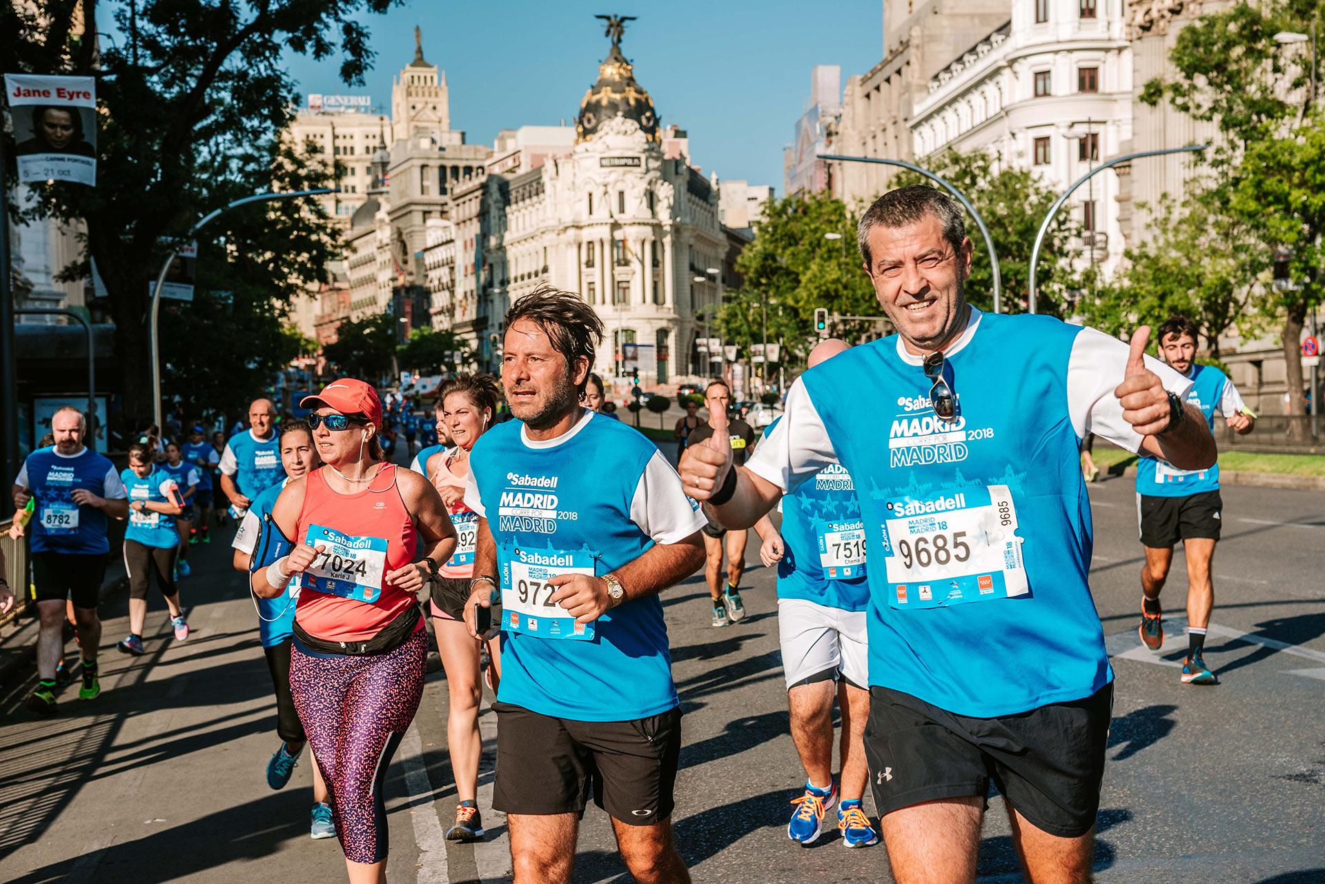 11 razones para inscribirse a Madrid Corre por Madrid